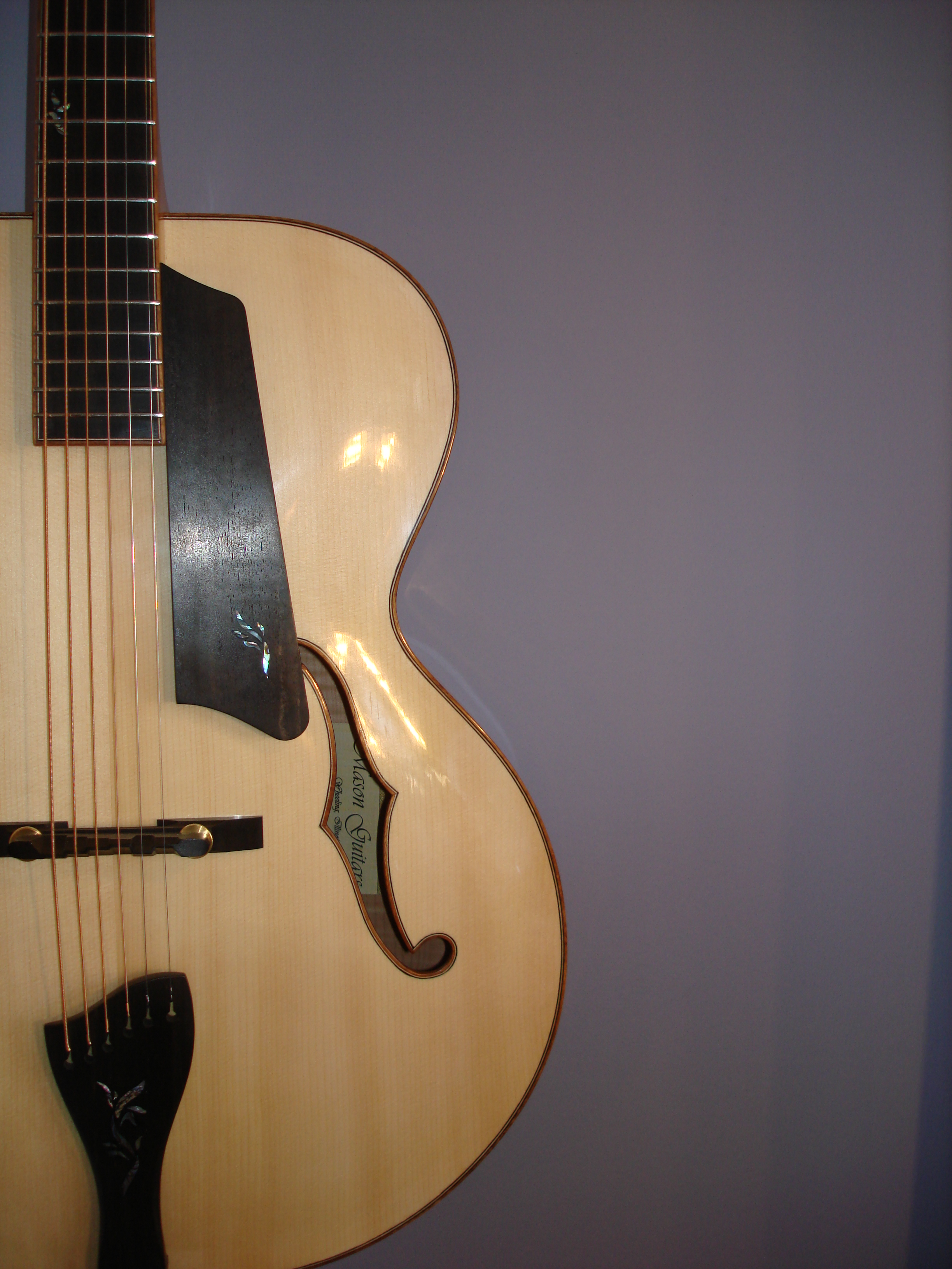 Archtop:  Half Body Front