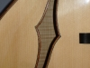 Archtop:  F-Hole Detail