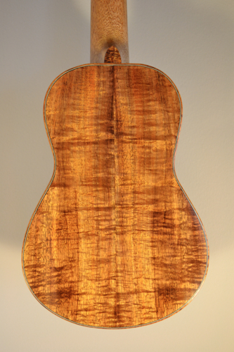 Concert Ukulele, Back View