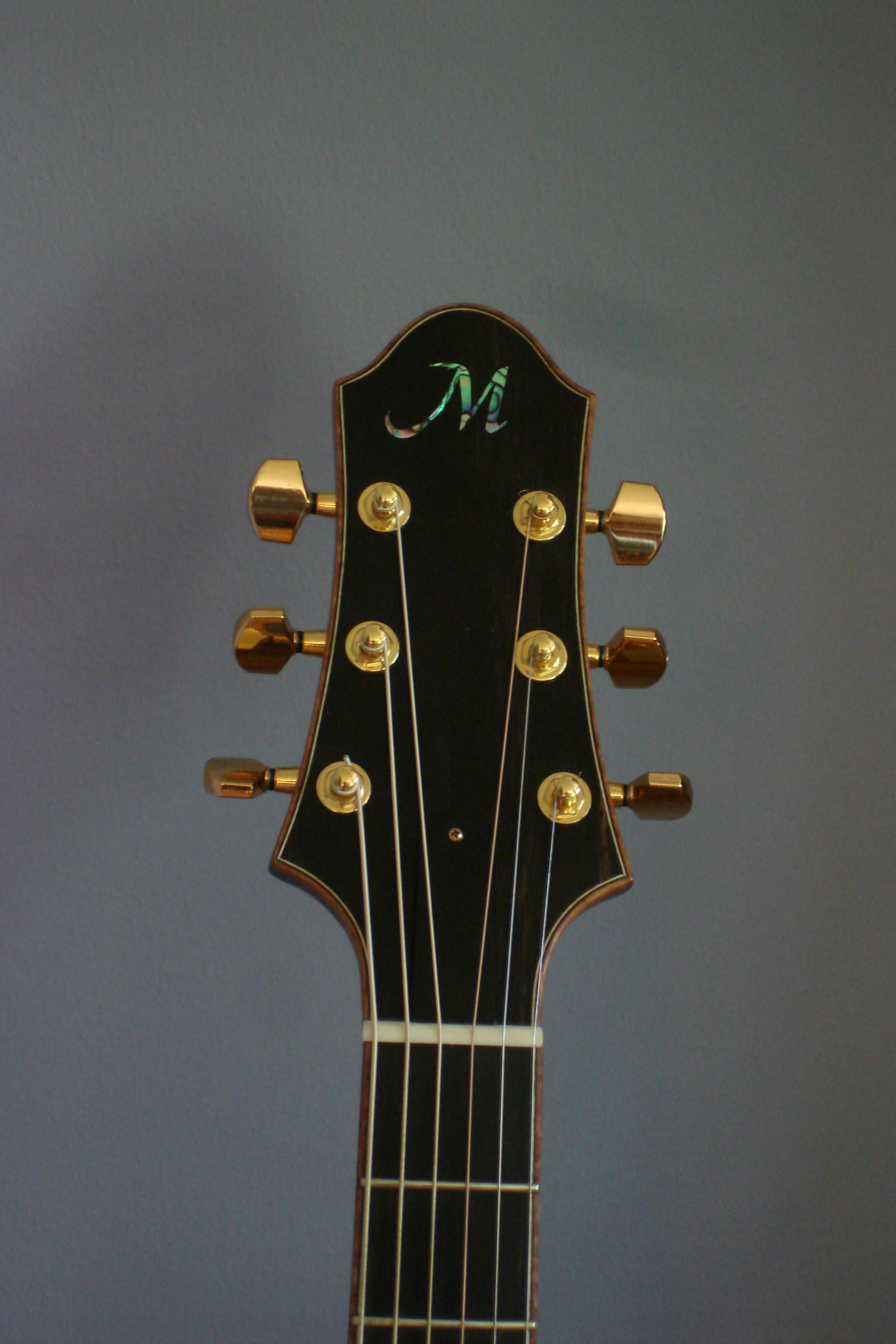 Grand Auditorium:  Head Stock Detail