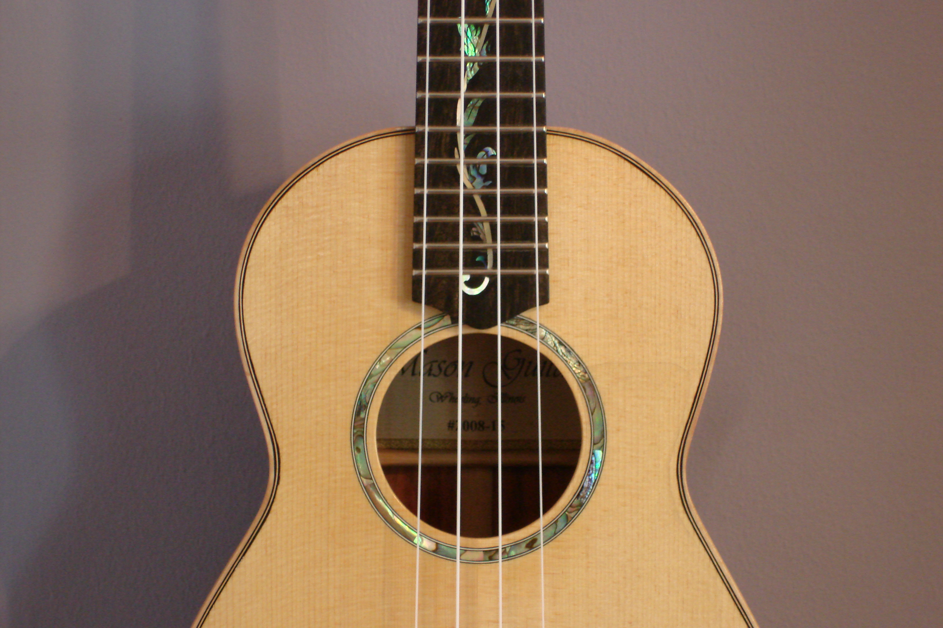 Tenor Ukulele  Upper Body
