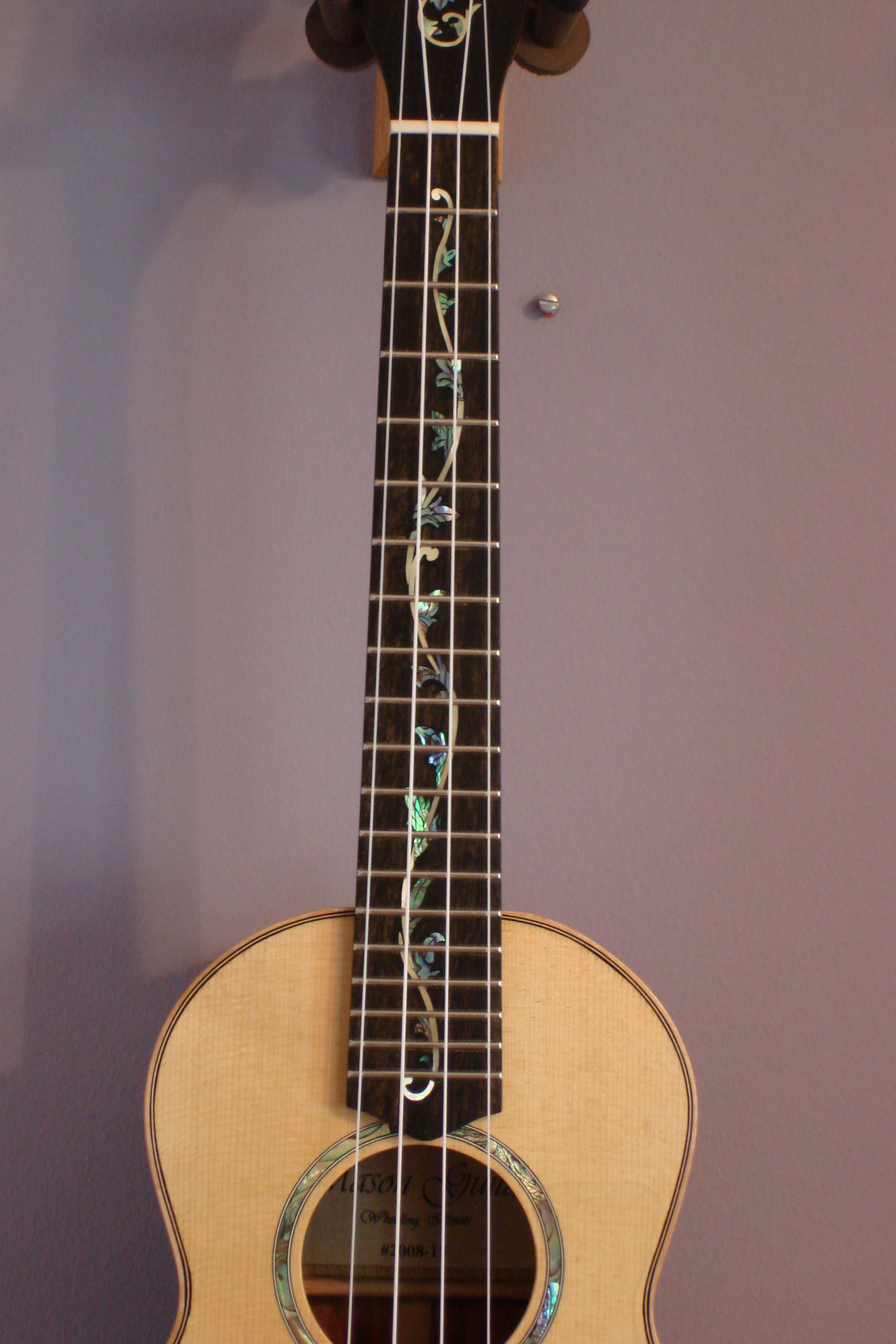 Tenor Ukulele - Fingerboard Inlay