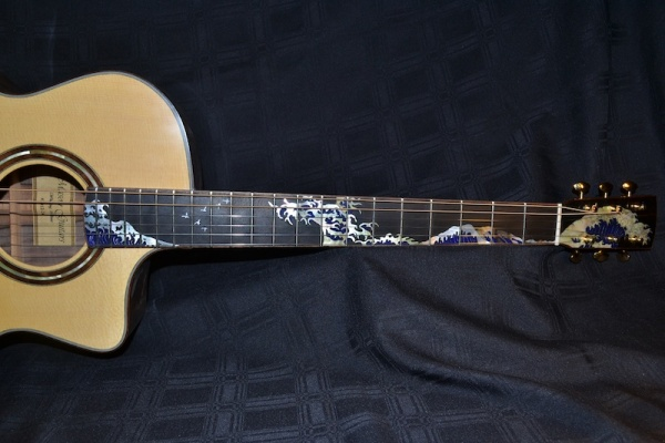 Wave Inlay Full Fretboard